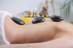 massage stones for improved blood circulation