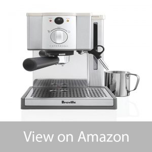 Breville ESP8XL Cafe Roma Stainless Steel Espresso Maker under $200 review