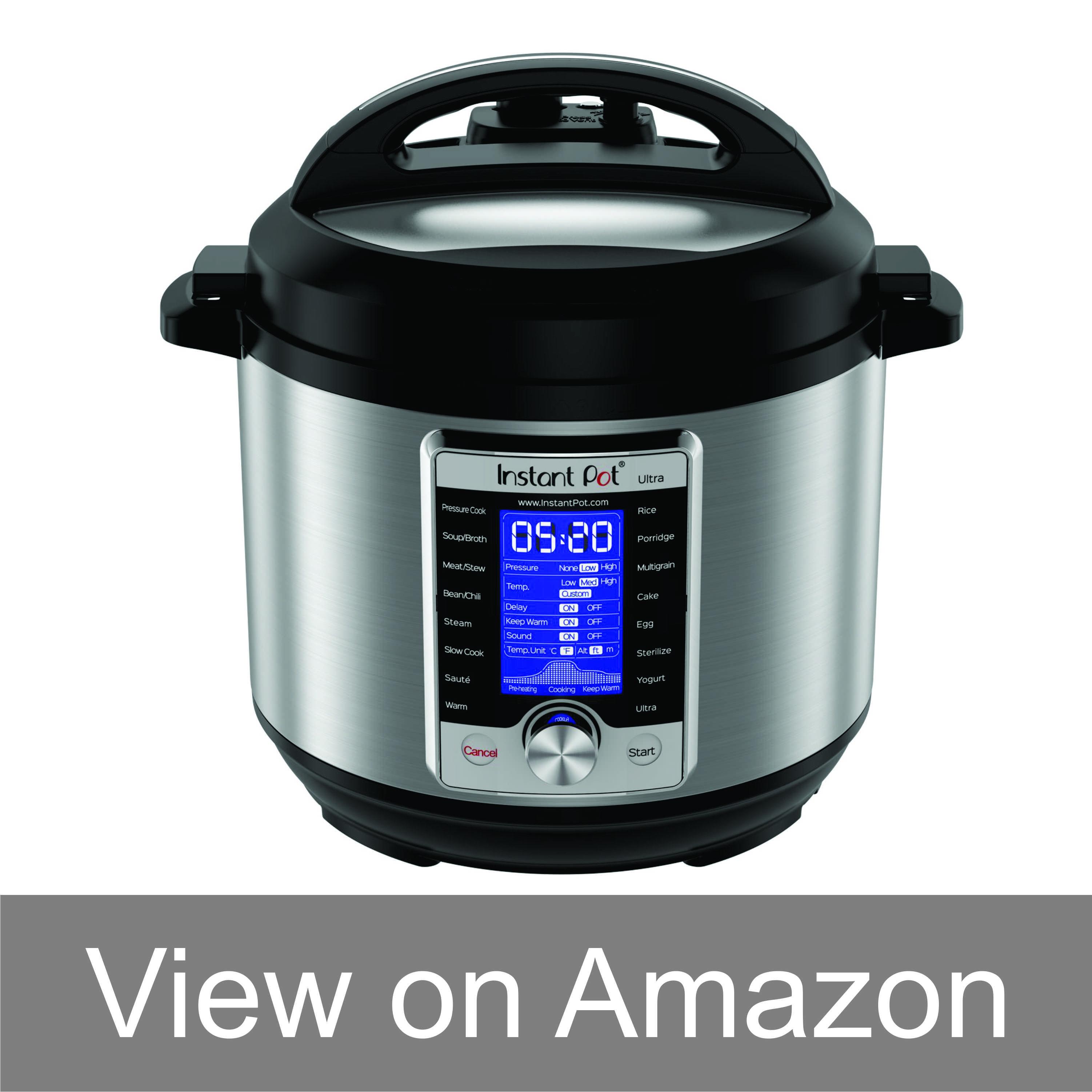 Instant Pot Ultra Smart Electric Pressure Cooker 10