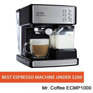 Our Best Espresso Machine under $200