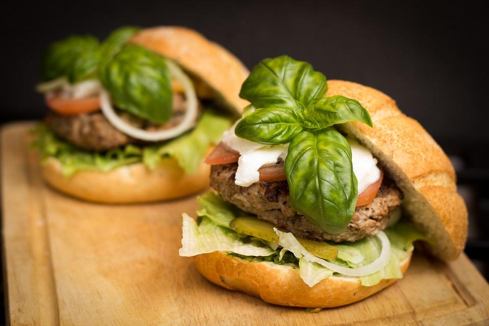 healthy hamburgers