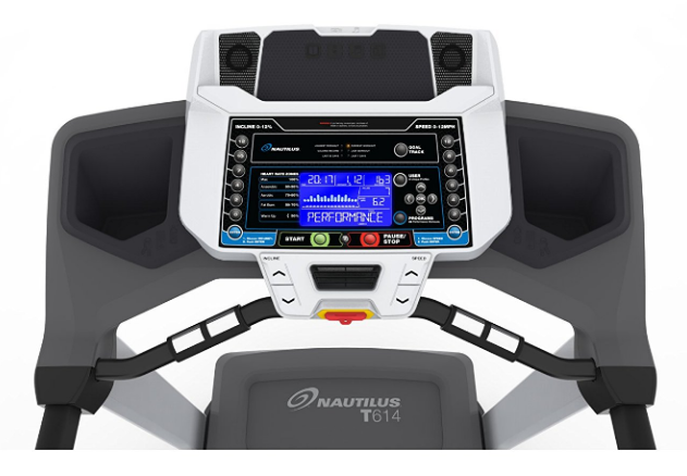 Nautilus T614 Treadmill LCD computer interface