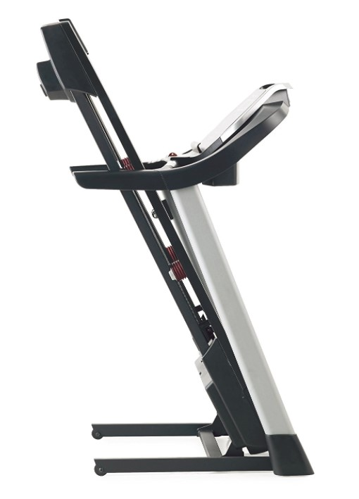 proform 505 CST Treadmill folded