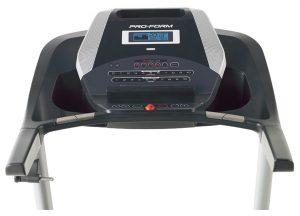 proform 505 CST Treadmill user interface