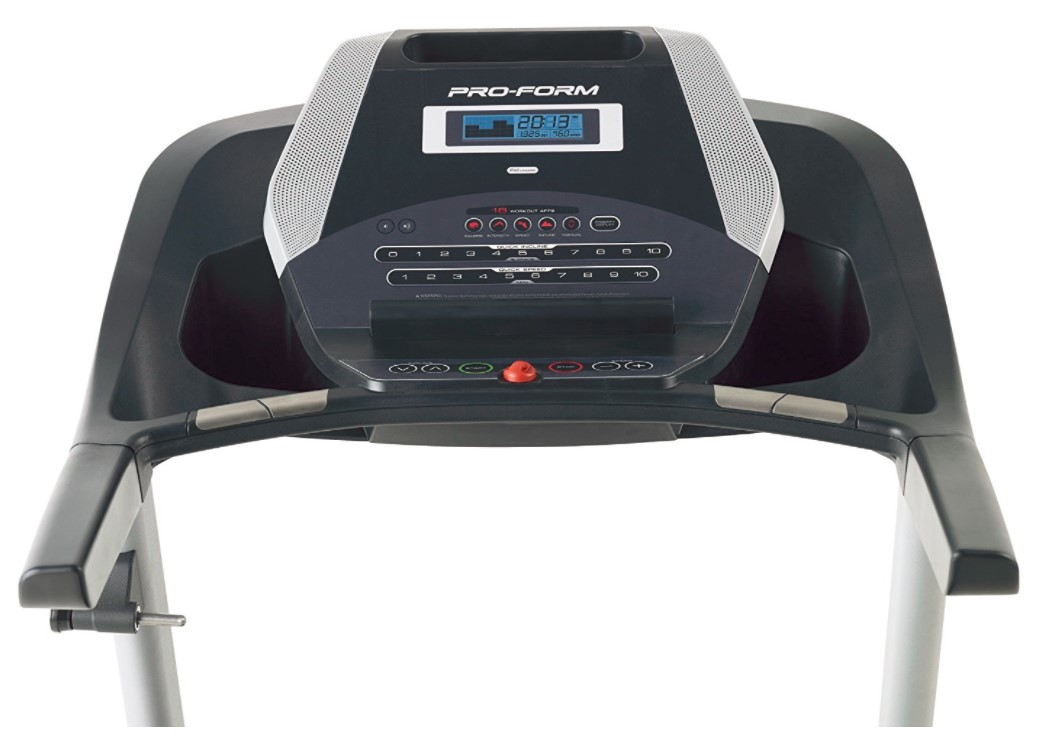 proform 505 CST Treadmill user interface