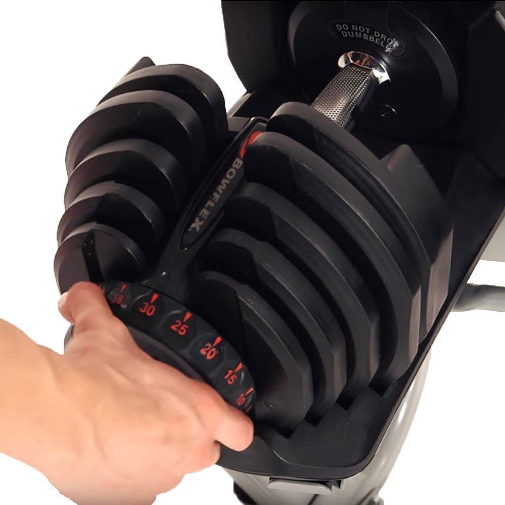 Bowflex SelectTech 1090 Dumbbell adjustable dial