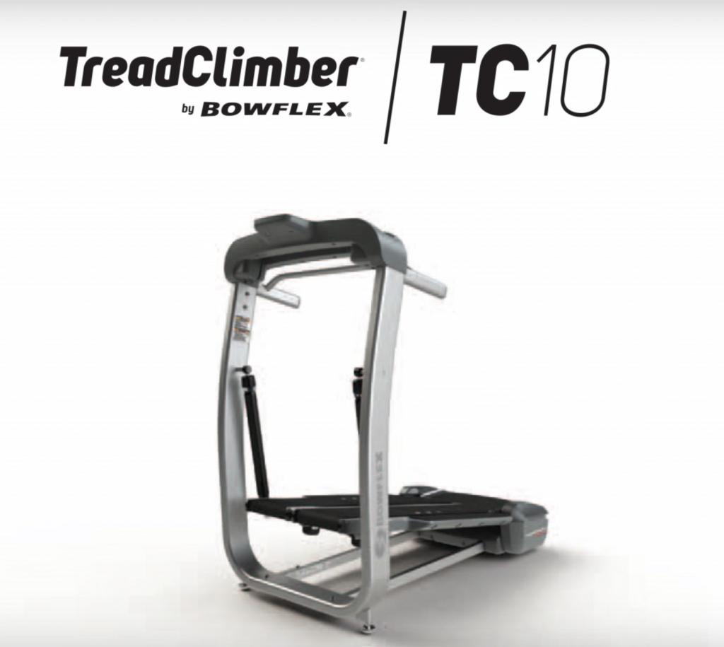 Bowflex TC10 TreadClimber