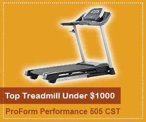 our choice of best treadmill under 1000