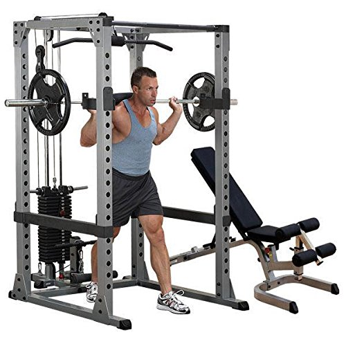 Body Solid GPR378 Power Rack with LAT