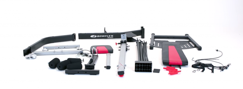 Bowflex PR1000 Parts and components