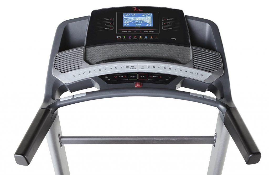 FreeMotion 850 Treadmill user interface