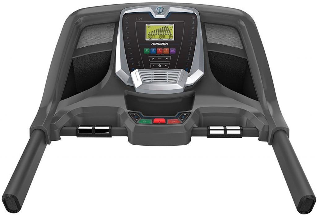 Horizon T101 Treadmill console display