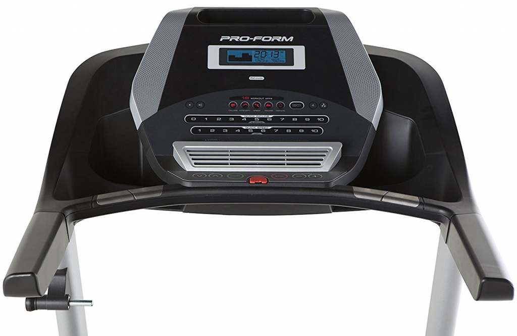 ProForm 520 ZN user interface and front