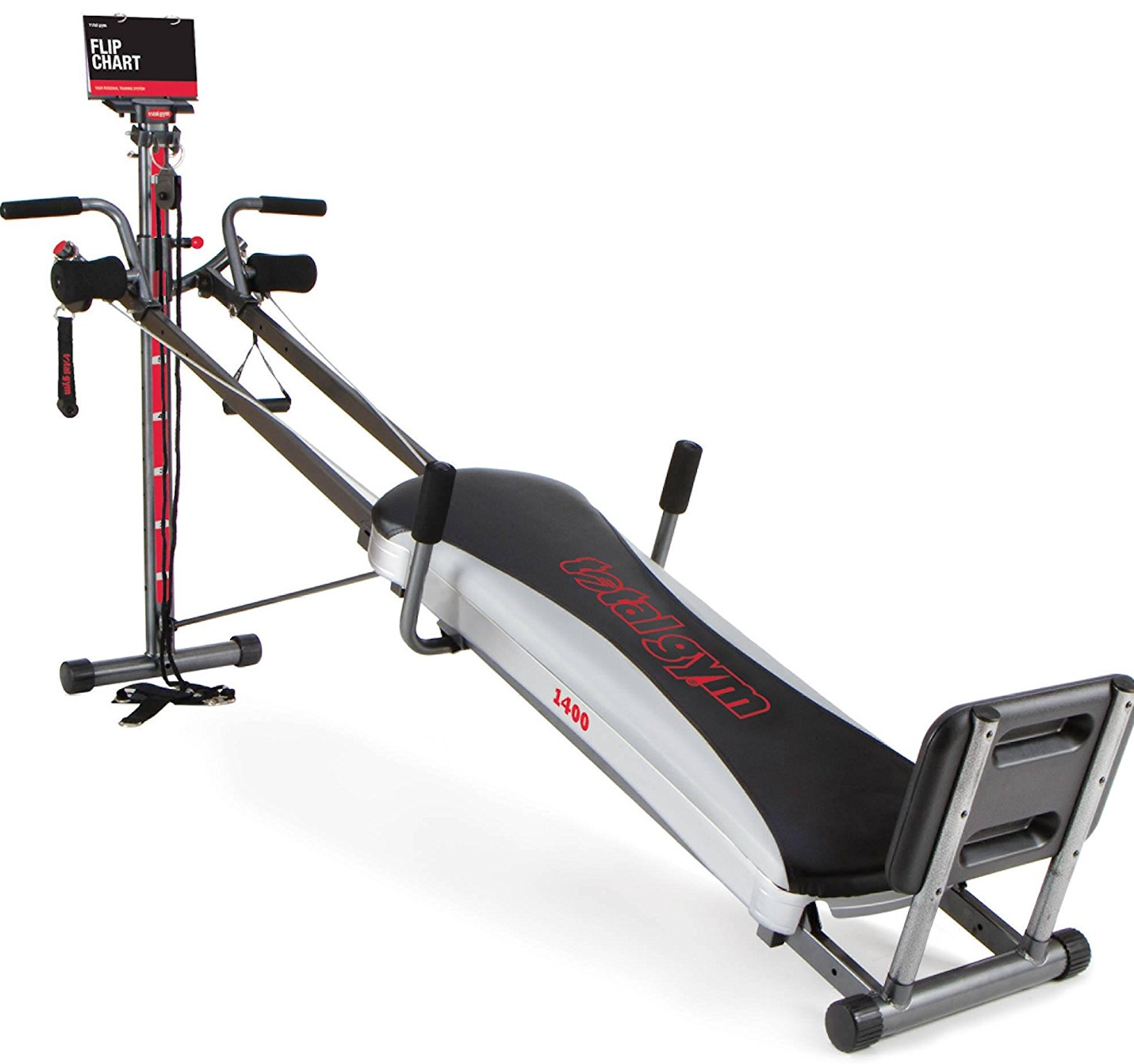 Total Gym 1400 Deluxe Home Gym graphic