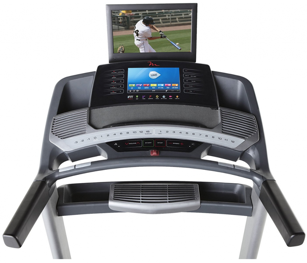 freemotion 890 treadmill user interface and display