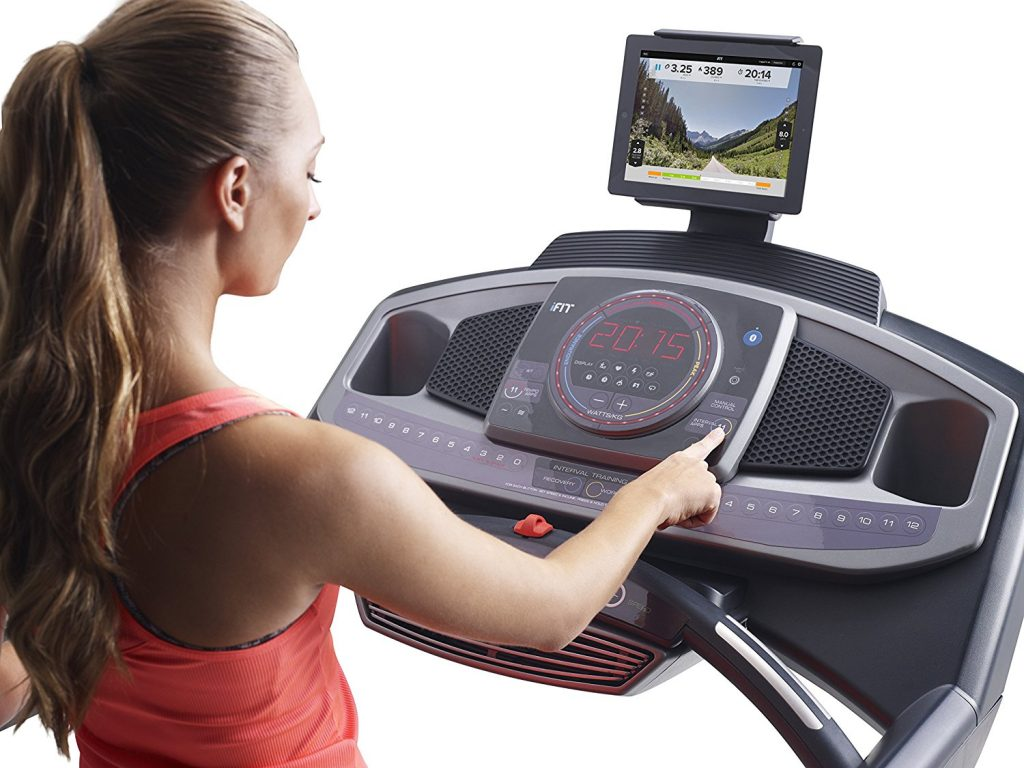 proform 600i treadmill user interface, buttons and functions