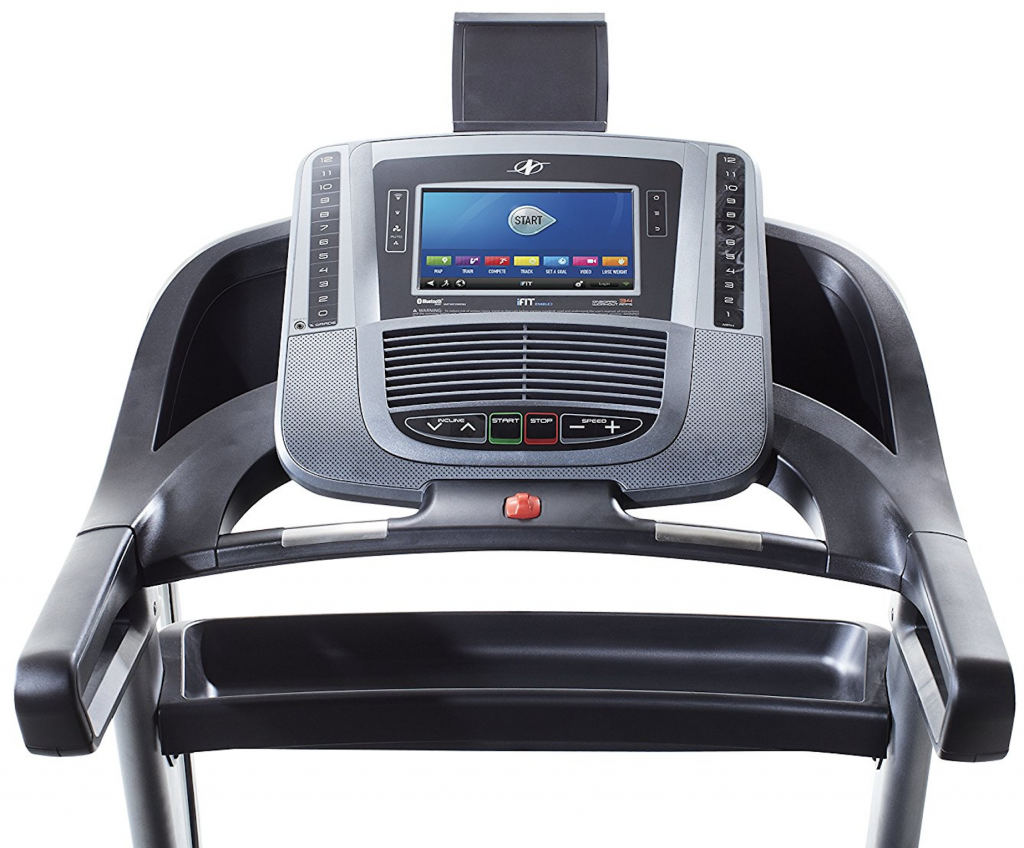 NordicTrack C1650 Treadmill user interface