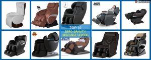 Top 10 best zero gravity massage chairs