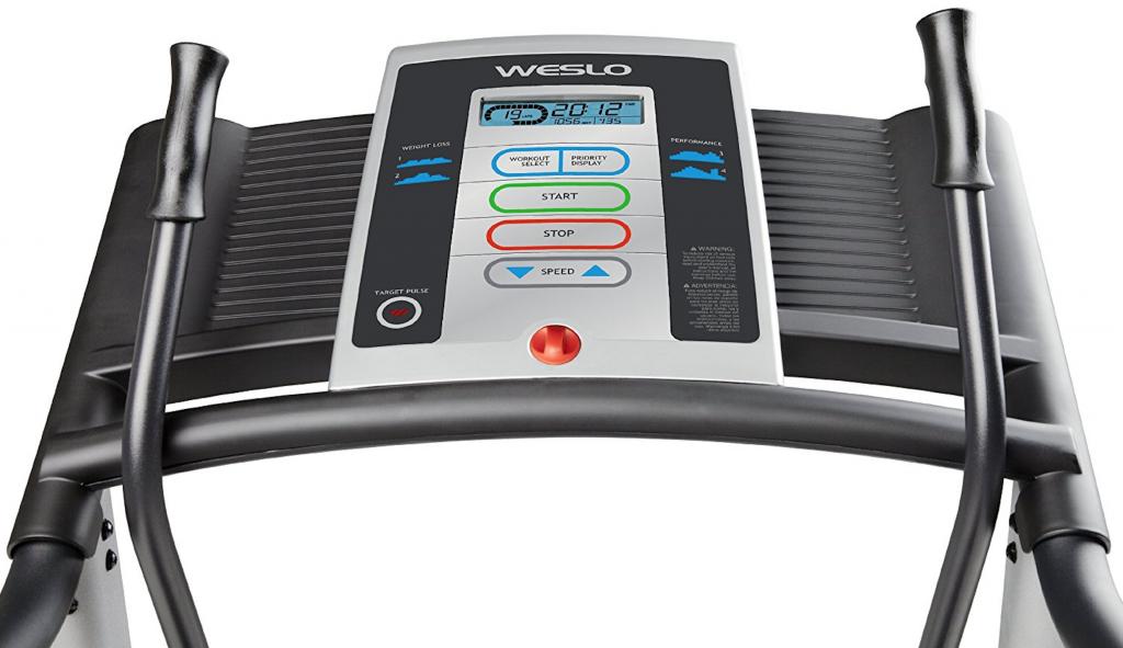 Weslo Crosswalk 5.2T Treadmill computer features