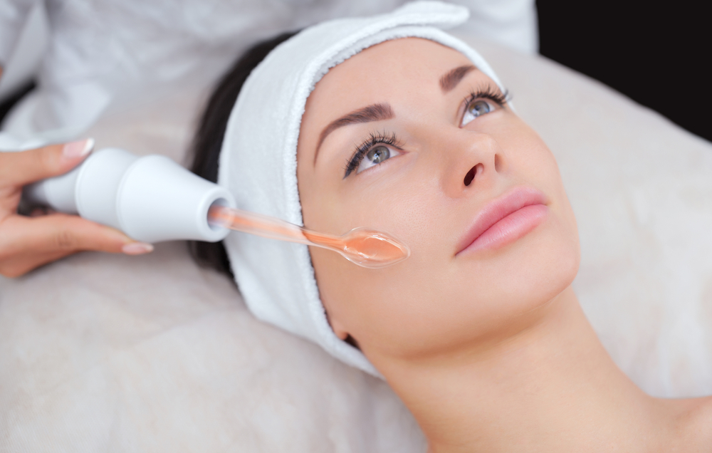 Microcurrent toning Facial system
