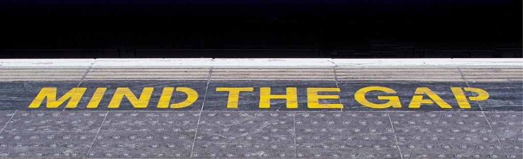 safety tips (mind the gap)