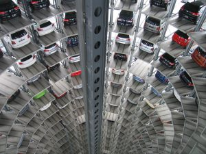cars stored