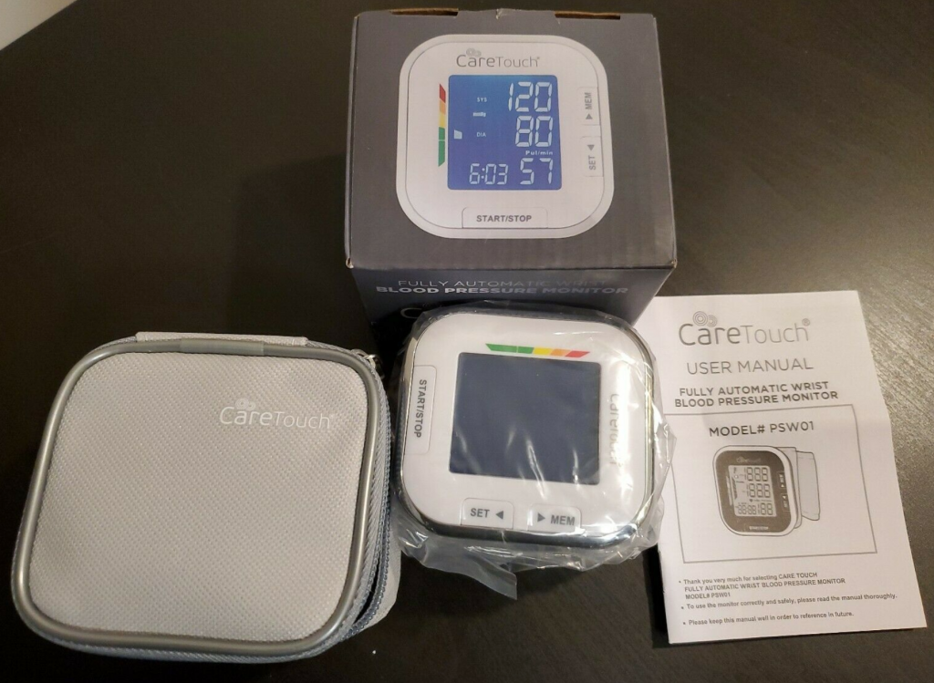 care touch blood pressure monitor