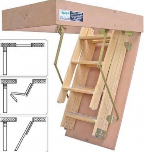 attic ladder designs