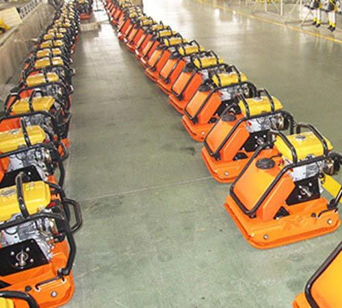 huge number of plate compactors