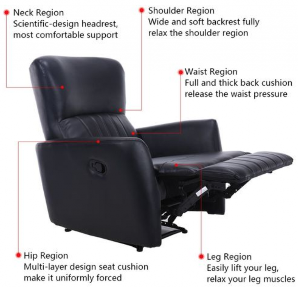 perfect recliner to take a nap
