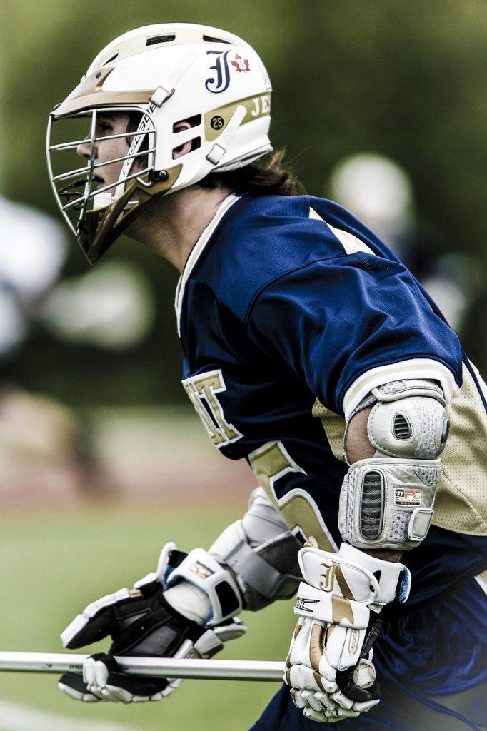 top lacrosse glove sports