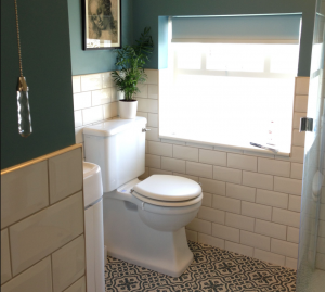 most compact toilet in small bathroom
