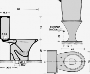 compact toilets for small bathrooms seat height