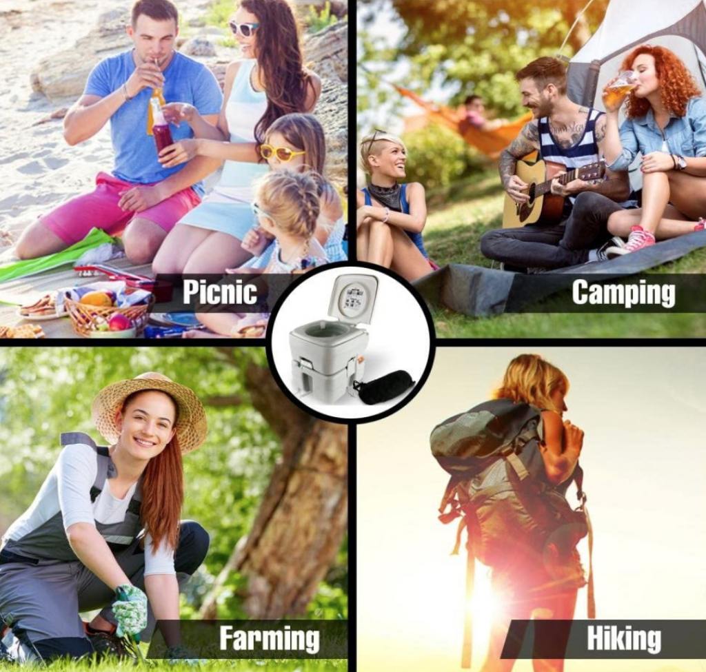 benefits of portable camping toilets
